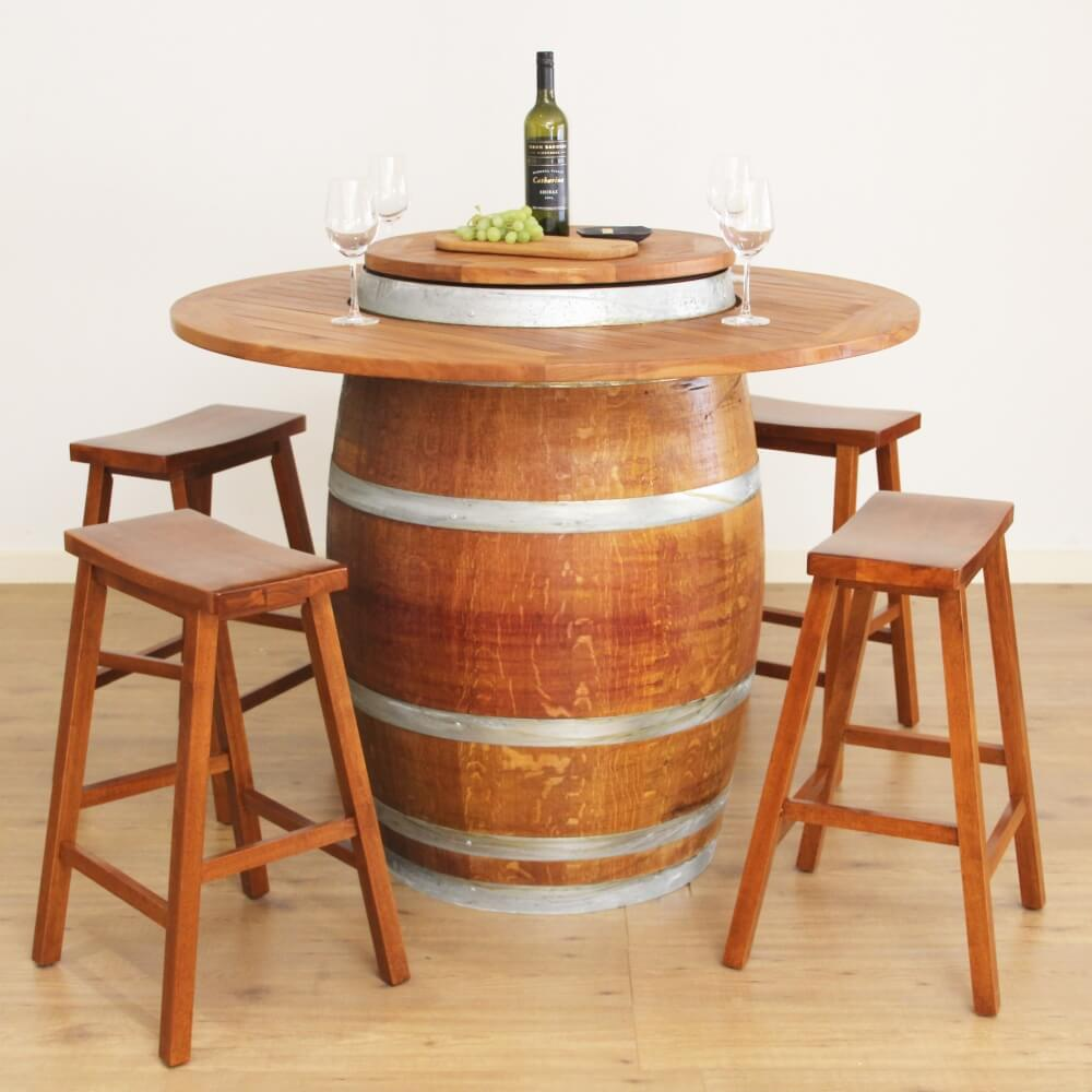 Wine Barrel Bar Made By Wohlers